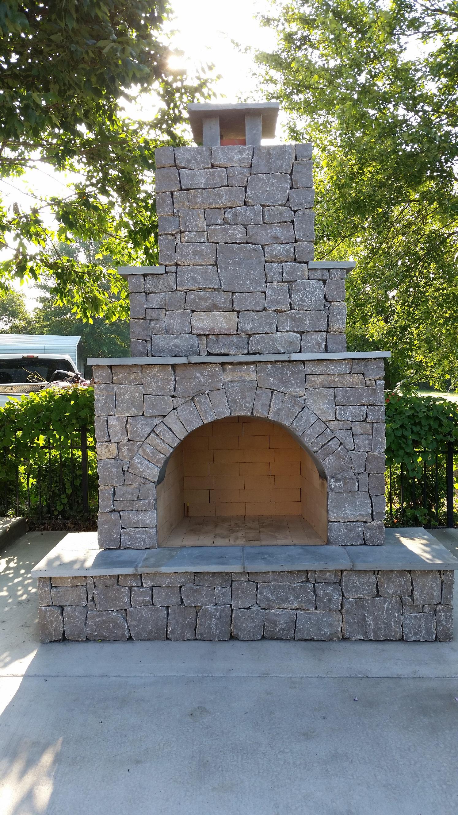 Custom Masonry Firepits Fireplaces Nashville Tn